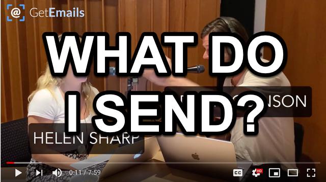 What do I send